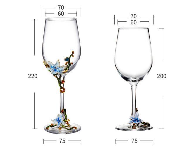 西洋容器★シャンパングラス クリスタル ハートグラス 結婚祝い 装飾 置物 カップ コップ越し祝い ワイングラス ワイン お酒 容器 7種類01_画像8