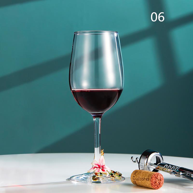 西洋容器★シャンパングラス クリスタル ハートグラス 結婚祝い 装飾 置物 カップ コップ越し祝い ワイングラス ワイン お酒 容器 7種類01_画像6