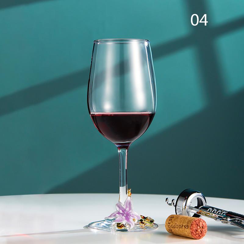 西洋容器★シャンパングラス クリスタル ハートグラス 結婚祝い 装飾 置物 カップ コップ越し祝い ワイングラス ワイン お酒 容器 7種類01_画像4