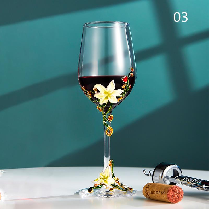 西洋容器★シャンパングラス クリスタル ハートグラス 結婚祝い 装飾 置物 カップ コップ越し祝い ワイングラス ワイン お酒 容器 7種類01_画像3