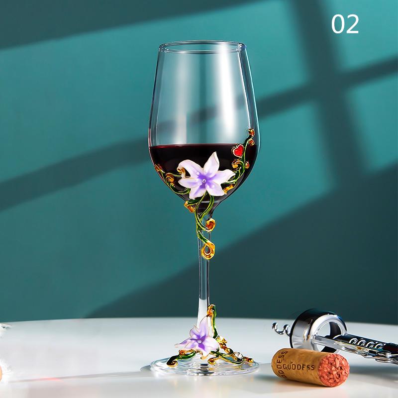 西洋容器★シャンパングラス クリスタル ハートグラス 結婚祝い 装飾 置物 カップ コップ越し祝い ワイングラス ワイン お酒 容器 7種類01_画像2