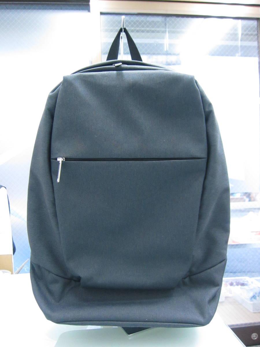 1円~ 【未使用・美品】marimekko マリメッコ リュック バッグ カバン 黒 ブラック 写真にてご確認ください。