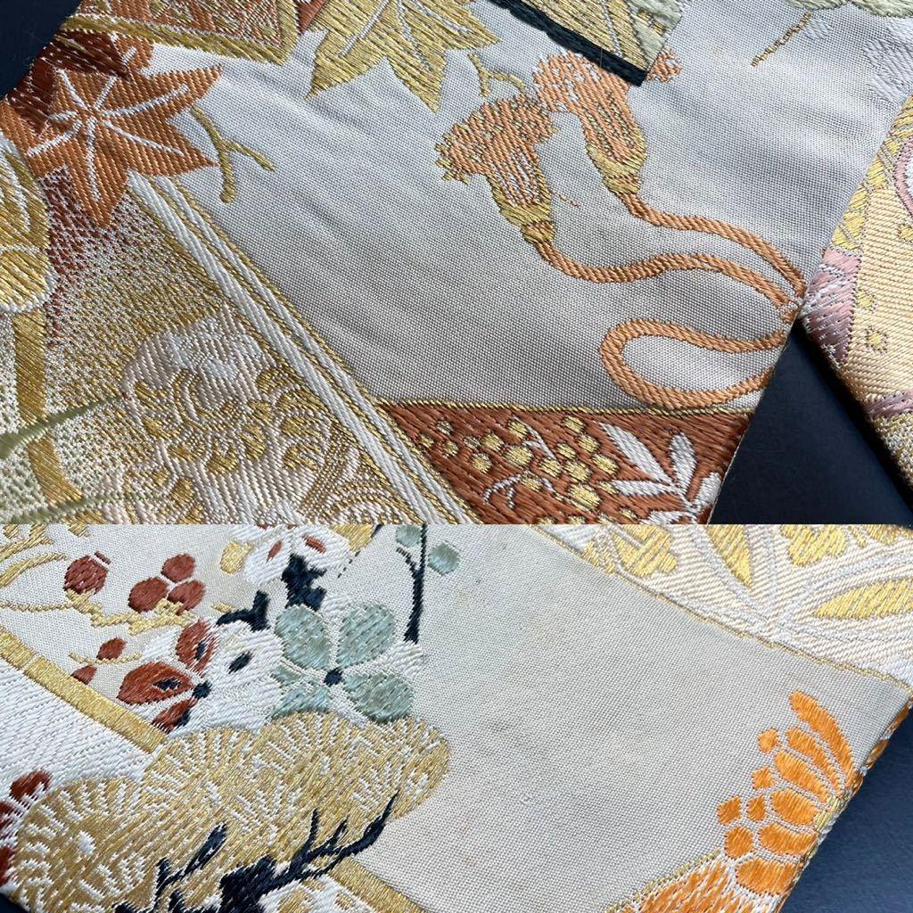 限定4本 日本刀 太刀 刀 刀袋 豪華 華紋 職人ハンドメイド 100% 正絹使用 一点物 3-3_画像10