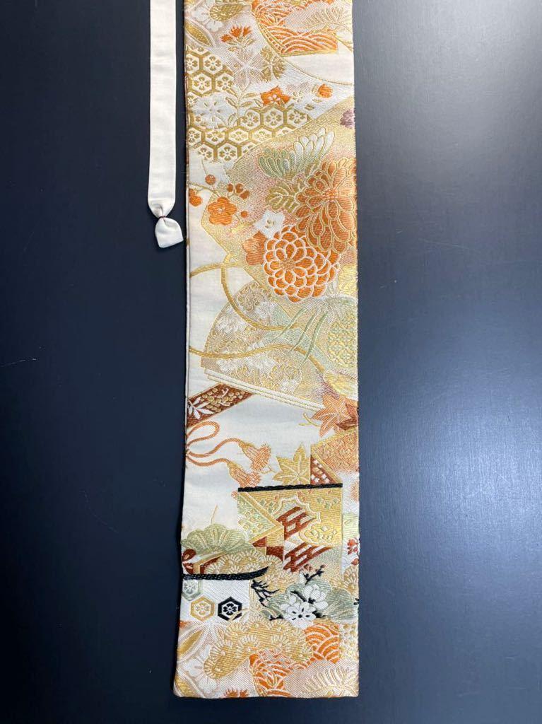 限定4本 日本刀 太刀 刀 刀袋 豪華 華紋 職人ハンドメイド 100% 正絹使用 一点物 3-3_画像4