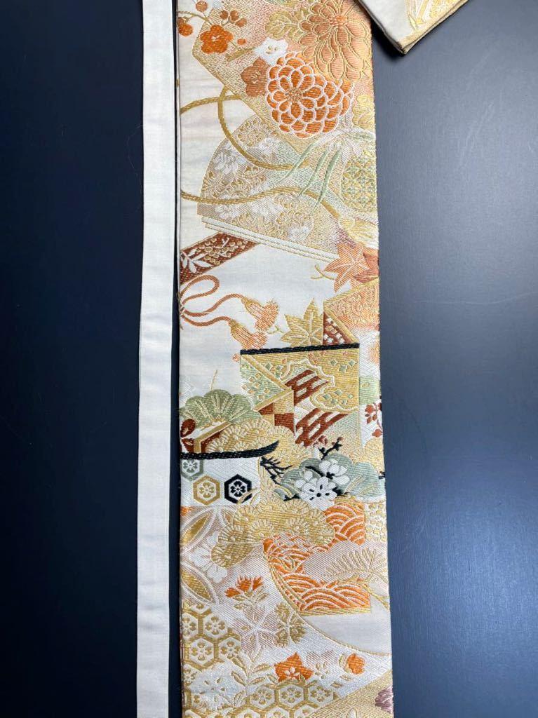 限定4本 日本刀 太刀 刀 刀袋 豪華 華紋 職人ハンドメイド 100% 正絹使用 一点物 3-3_画像3