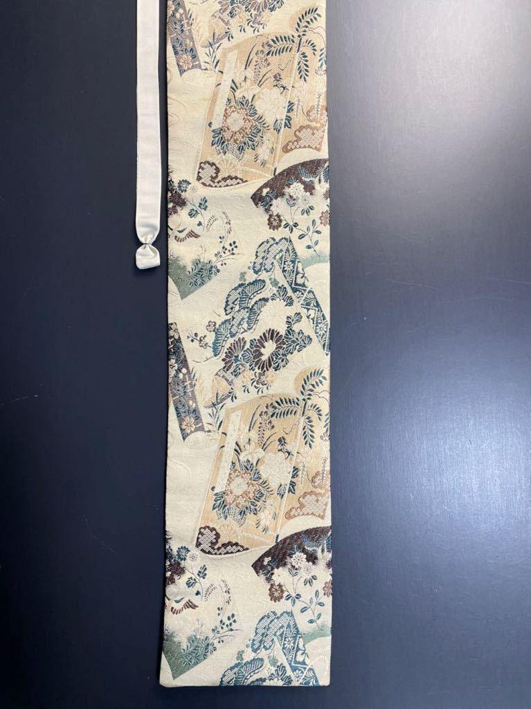 限定4本 日本刀 太刀 刀 刀袋 豪華 華紋 職人ハンドメイド 100% 正絹使用 一点物 9-1_画像8