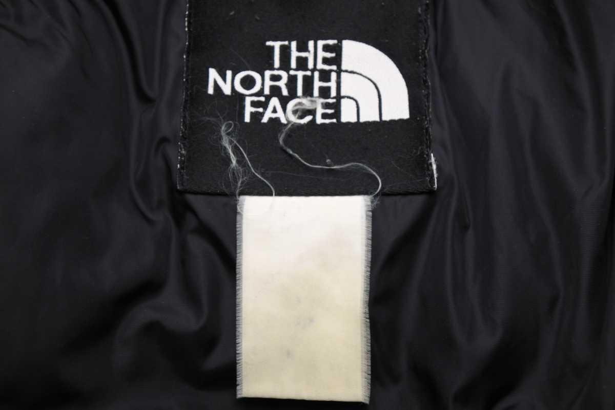 THE NORTH FACE ノースフェイス ヴィンテージ メンズ ダウンジャケット ヌプシ パープル 紫 中古 23452 正規品_画像9