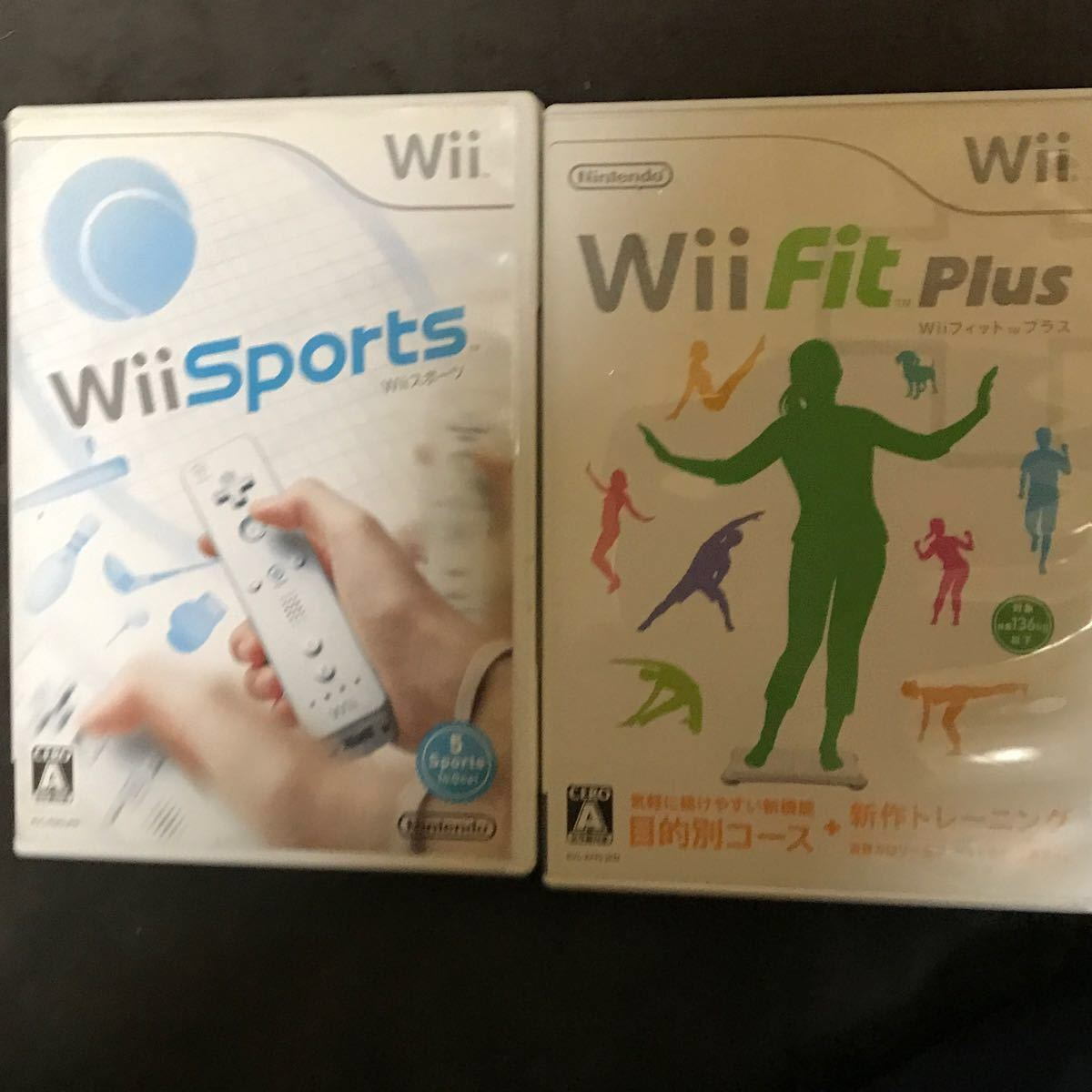 Wiiソフト Wiiフィットプラス Wii Fit Plus Wiiスポーツリゾート Wii Wii Sports ソフト