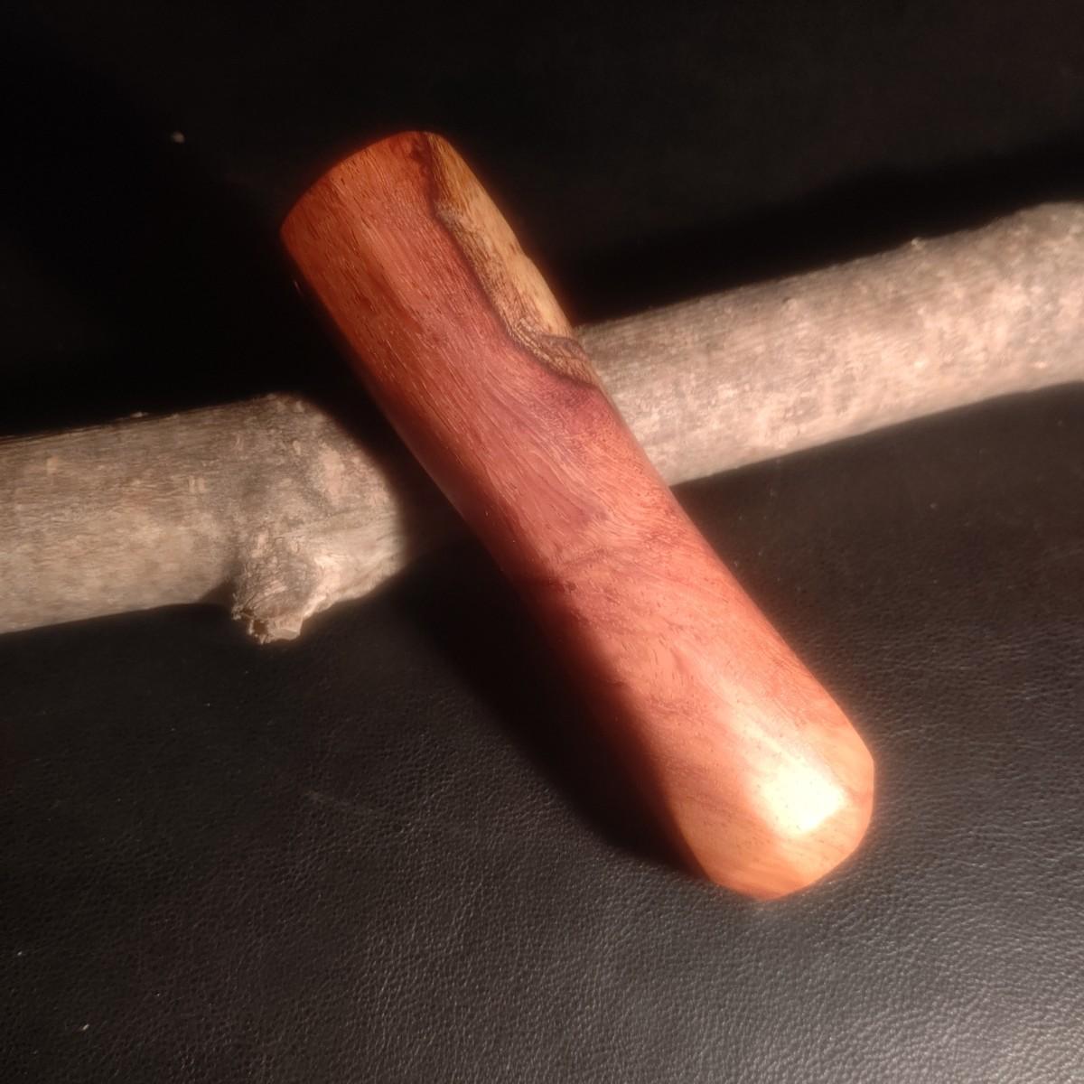 薪バサミ カスタムグリップ テオゴニア 薪ばさみ 花梨瘤