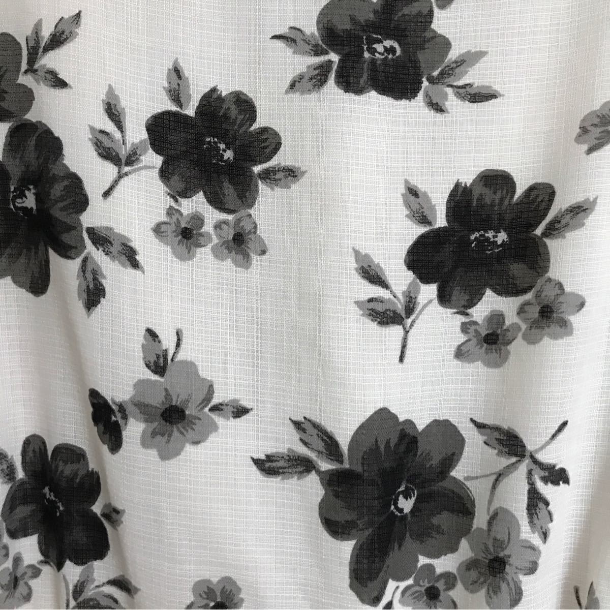 花柄ワンピース ページボーイ