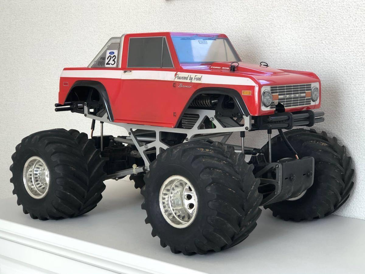 タミヤ 1/10 RC TXT-1 フォード ブロンコボディ ツインバッテリー