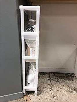 ライクイット (like-it) キッチン 収納 スリムワゴン 幅15x奥53.6x高86.9cm ナチュラル 日本製 TSS-_画像6