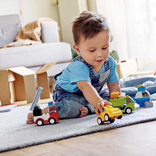 レゴ(LEGO) デュプロ はじめてのデュプロ いろいろのりものボックス 10886 知育玩具 ブロック おもちゃ 男の子 車_画像7