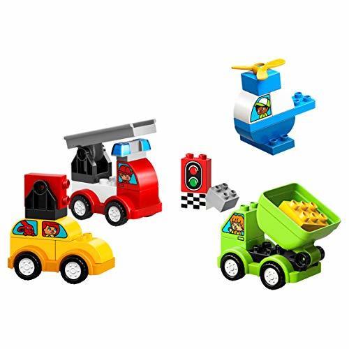 レゴ(LEGO) デュプロ はじめてのデュプロ いろいろのりものボックス 10886 知育玩具 ブロック おもちゃ 男の子 車_画像4