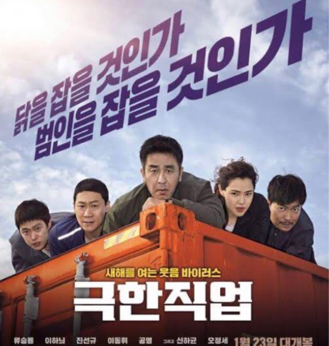 韓国映画  エクストリームジョブ  DVD  日本語吹替有り  リュ・スンリョン  イ・ハニ  期間限定価格