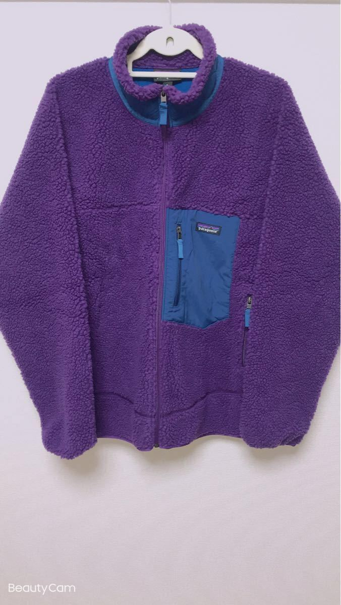新品未使用 パタゴニア patagonia メンズ クラシック レトロX フリース ジャケット パープル XLサイズ 新品 正規品