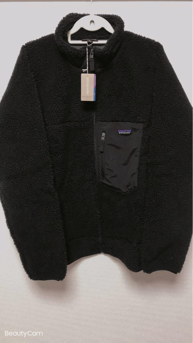 patagonia メンズ クラシック レトロX フリース ジャケット ブラック XXLサイズ 新品 正規品