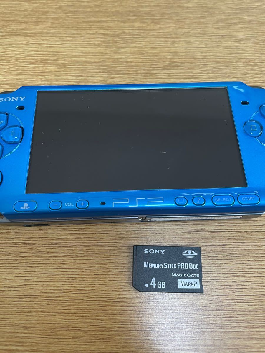 PSP3000本体とソフト