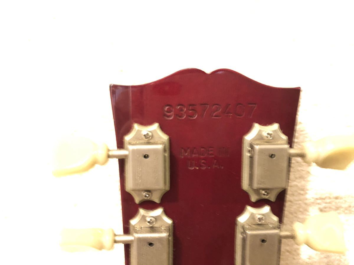GIBSON USA (ギブソン) EDS-1275 SG double neck guitar ジミーペイジ Jimmy Page 1992年製 ダブルネックギター_画像8