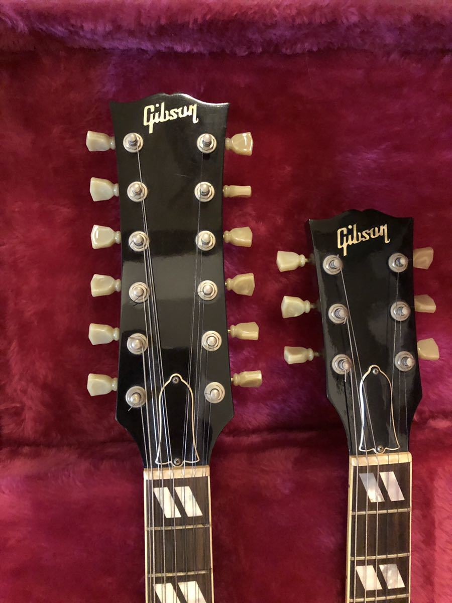 GIBSON USA (ギブソン) EDS-1275 SG double neck guitar ジミーペイジ Jimmy Page 1992年製 ダブルネックギター_画像2