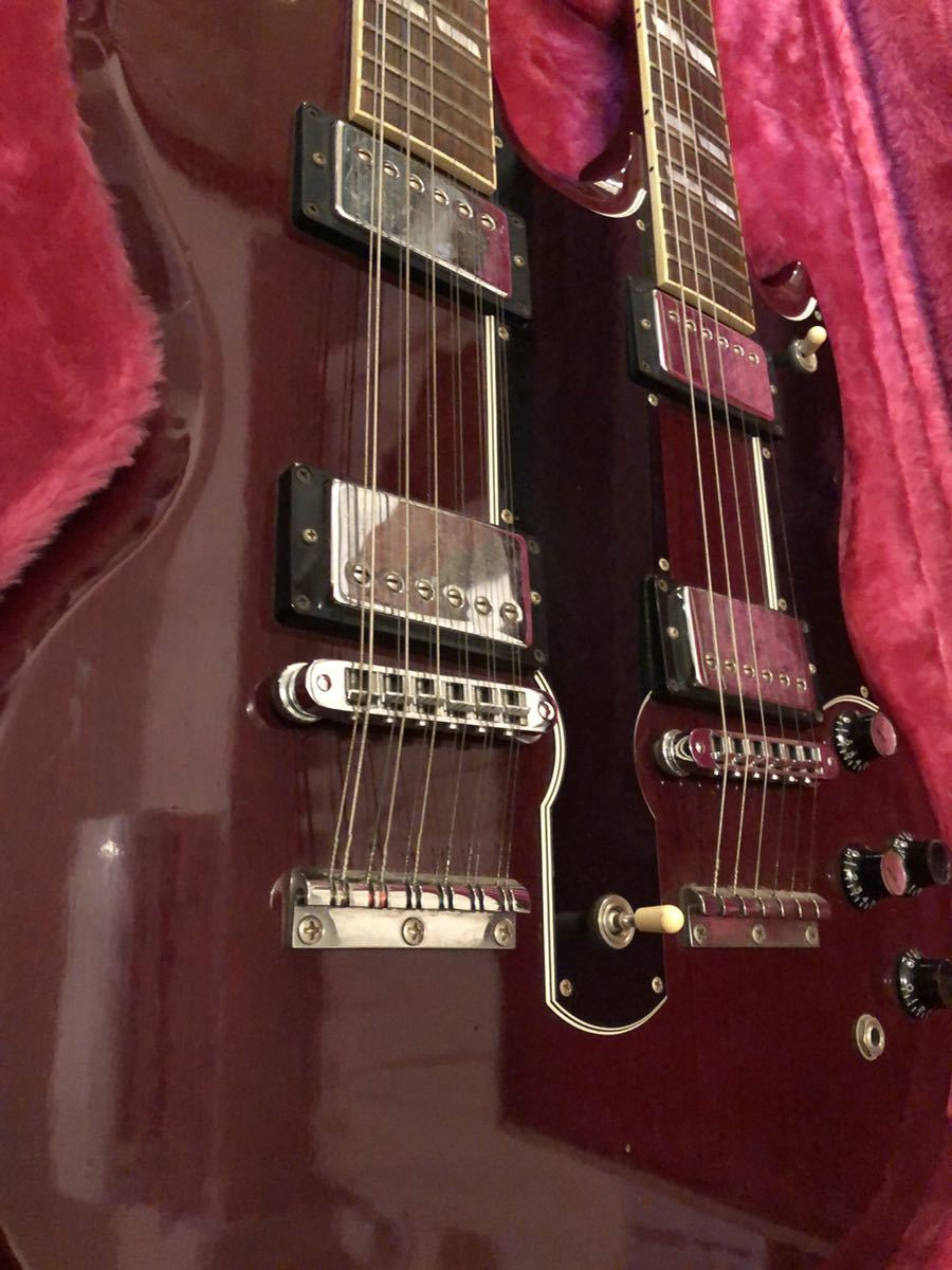 GIBSON USA (ギブソン) EDS-1275 SG double neck guitar ジミーペイジ Jimmy Page 1992年製 ダブルネックギター_画像3
