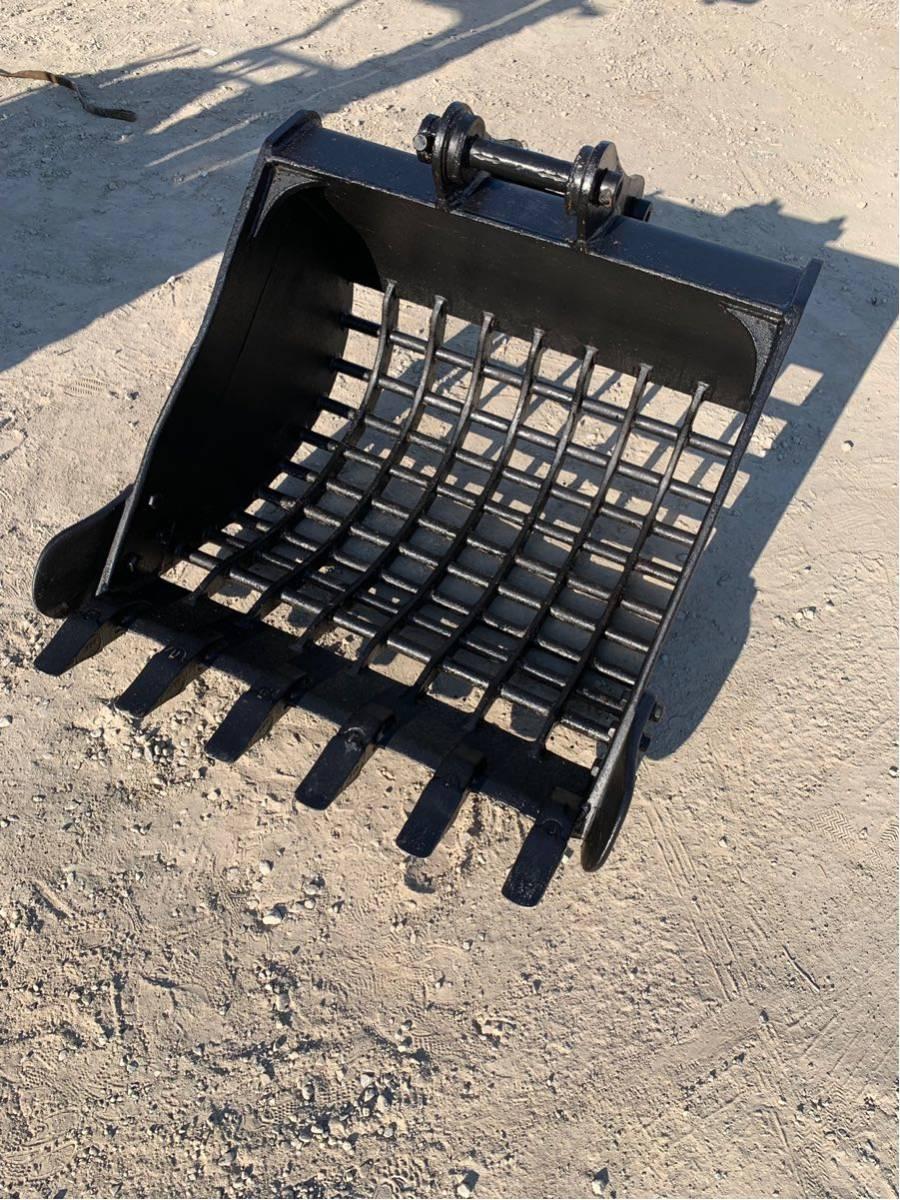 「スケルトンバケット スケルトン バケット バケツ ピン径45パイ アーム幅170㎝ メッシュサイズ70×100 ピン付き 即使用可能 建設機械」の画像1