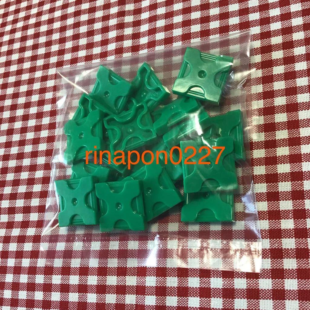 used 「 LaQ ラキュー 基本 パーツ 緑色 No.1 20個 」 / 四角形 正方形 / グリーン /20ピース/ パズルブロック 知育玩具おすすめ_画像2