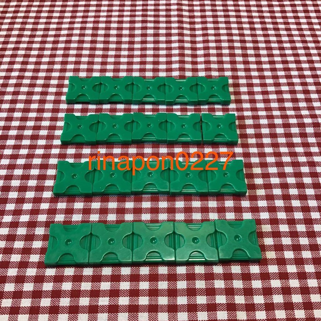 used 「 LaQ ラキュー 基本 パーツ 緑色 No.1 20個 」 / 四角形 正方形 / グリーン /20ピース/ パズルブロック 知育玩具おすすめ_画像1