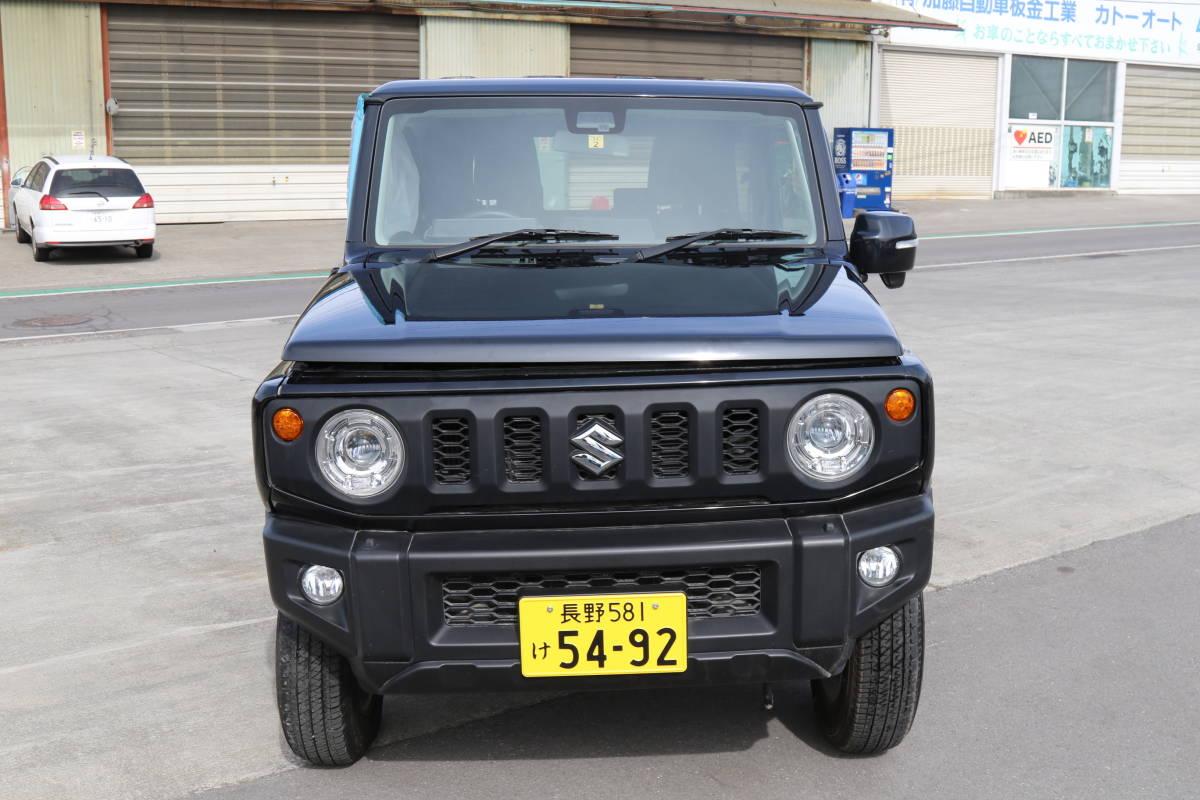 「スズキ ジムニー 事故車現状販売 型式3BA-JB64W 初年度登録平成31年2月登録 車検残有り 」の画像2