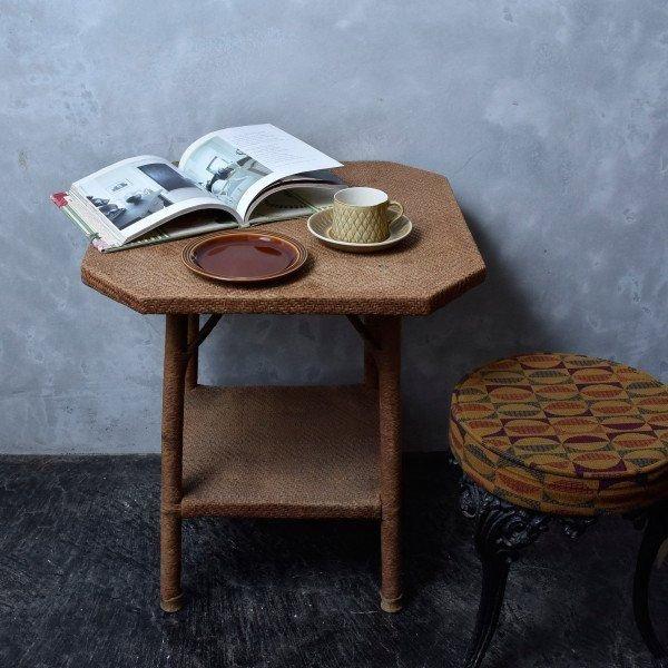 IZ45985I○HORNSEA エアルーム プレート 17.5cm 英国 ヴィンテージ ホーンジー Heirloom ブラウン イギリス ビンテージ デザート 食器 陶器_画像2