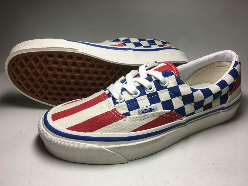 VANS ERA OFF THE WALL ANAHEIM FACTORY COLLECTION STYLE95 (US/Check×Stripe/23.5cm)_画像1