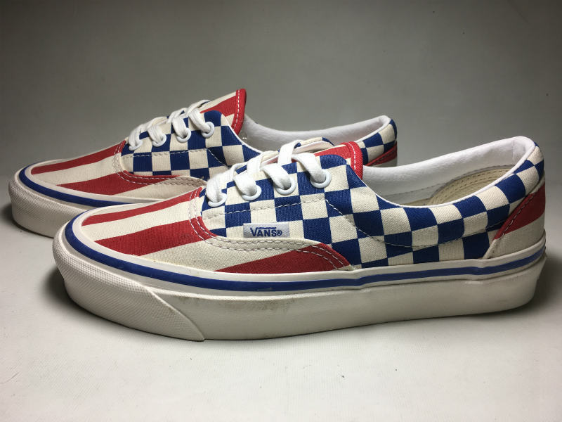 VANS ERA OFF THE WALL ANAHEIM FACTORY COLLECTION STYLE95 (US/Check×Stripe/23.5cm)_画像2