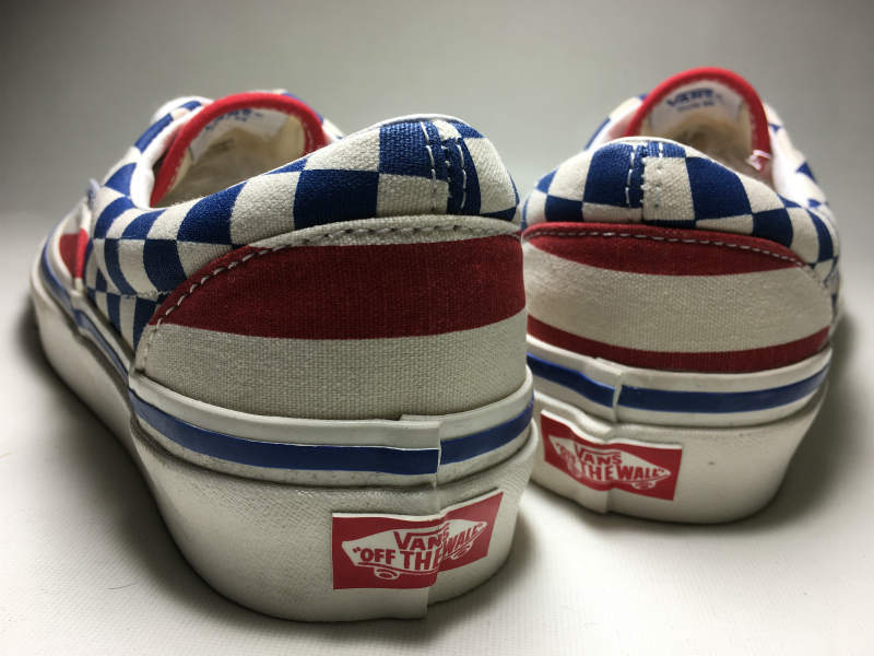 VANS ERA OFF THE WALL ANAHEIM FACTORY COLLECTION STYLE95 (US/Check×Stripe/23.5cm)_画像3