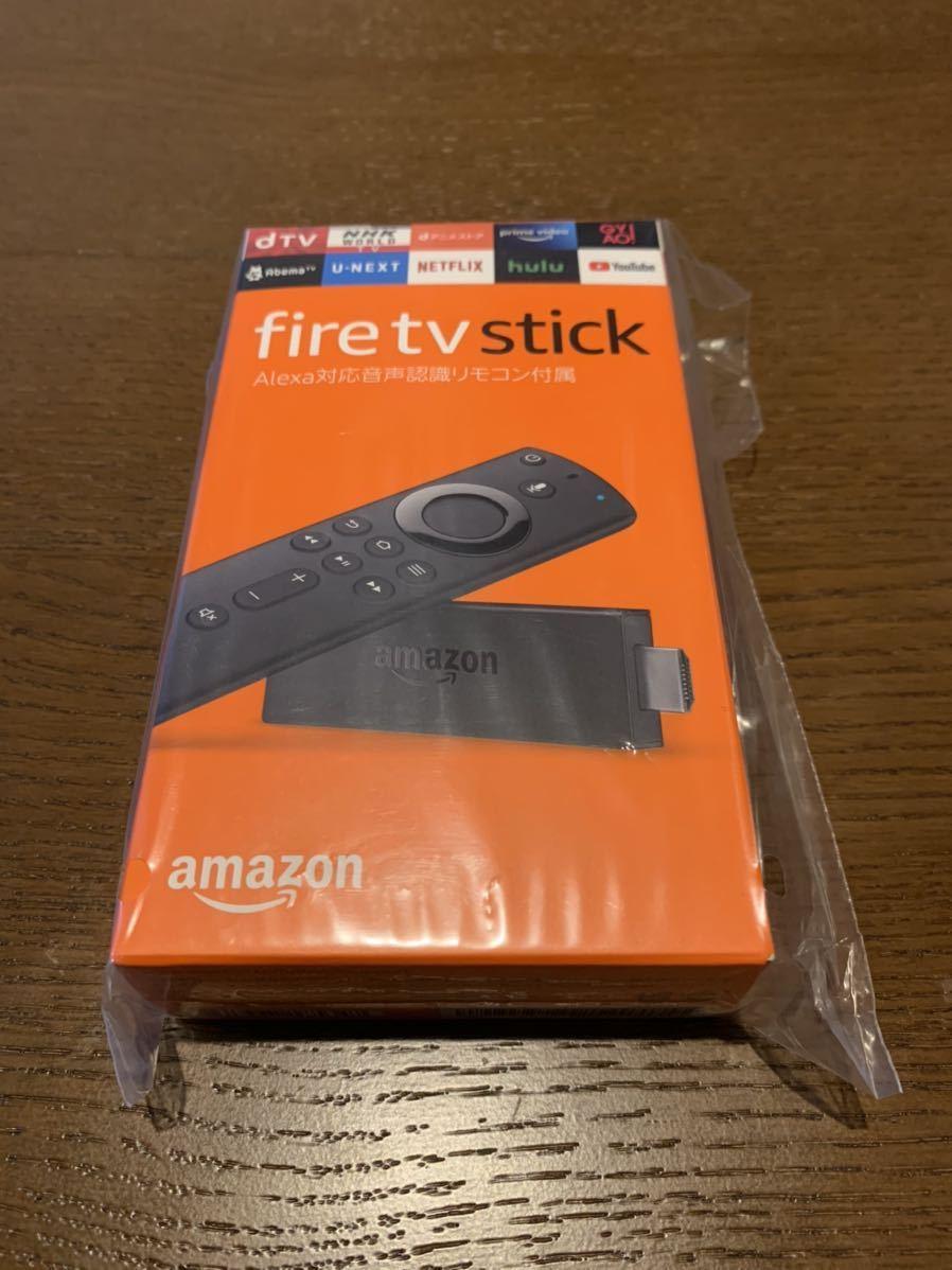 新品未使用 Amazon Fire TV Stick インターネット Wi-Fi機能 新登場 Alexa対応音声認識リモコン付属 ストリーミングメディアプレーヤー