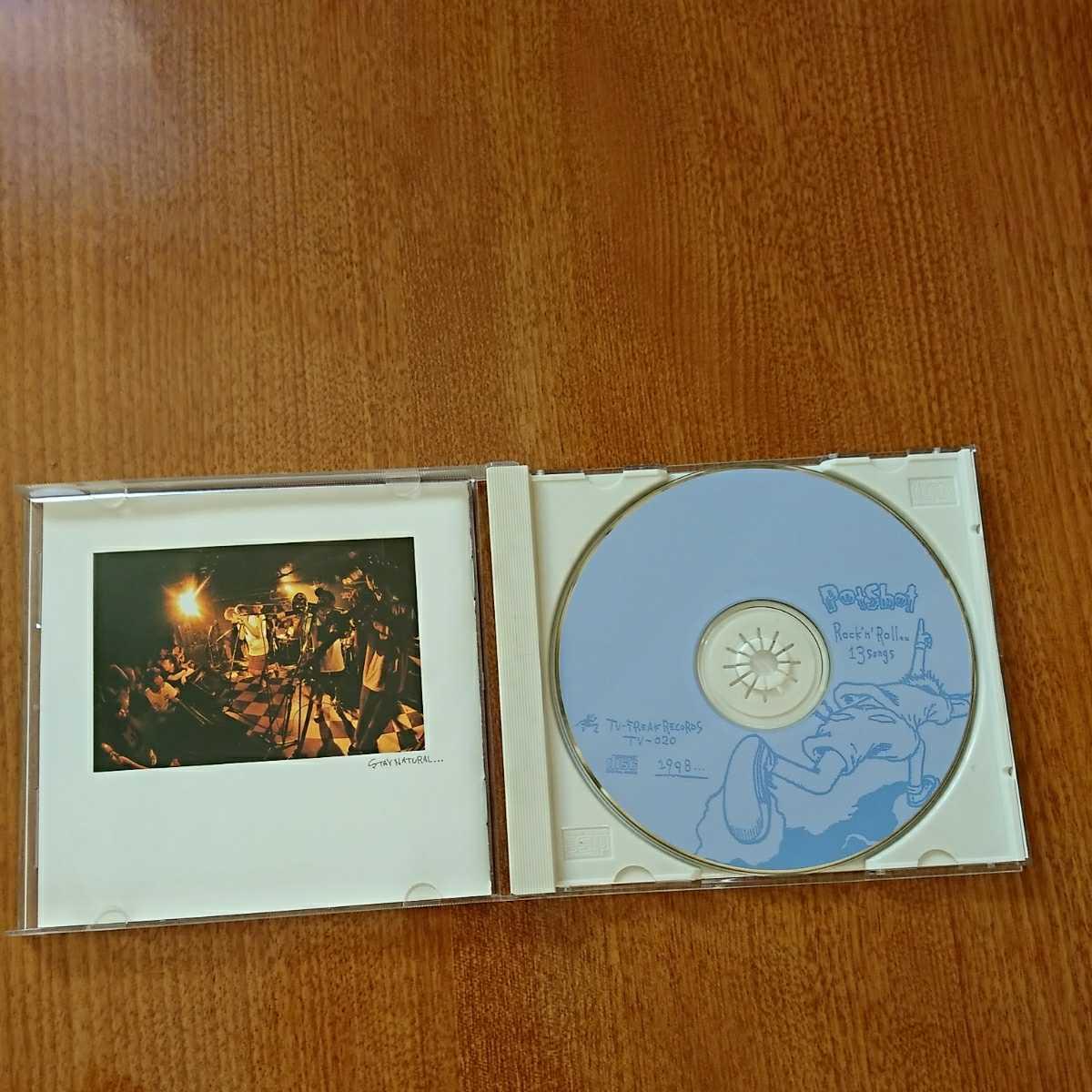[帯付/CD] Potshot - Rock'n Roll (Japanese Ska Punk) ☆メロコア インディームーブ!