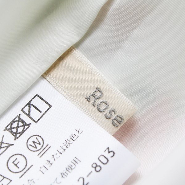 新品 大きいサイズ 定価1.7万 Rose Tiara ローズティアラ フリージアポピーフラワープリントフレアスカート 42【2400012164550】_画像7