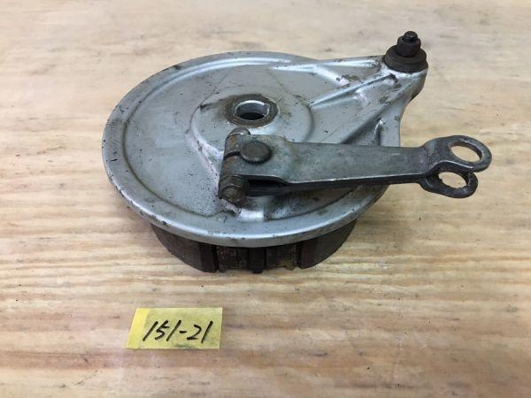 151-21 ホンダ プレスカブ50 AA01 リアブレーキドラム パネル HONDA Press Cub 50 純正 4スト キャブ車 新聞 レストア 修理 在庫処分セール_画像1