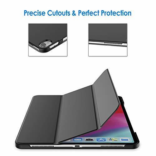 ブラック 12.9インチ JEDirect iPad Pro 12.9インチ ケース 2018モデル (2020モデル非対応) _画像7