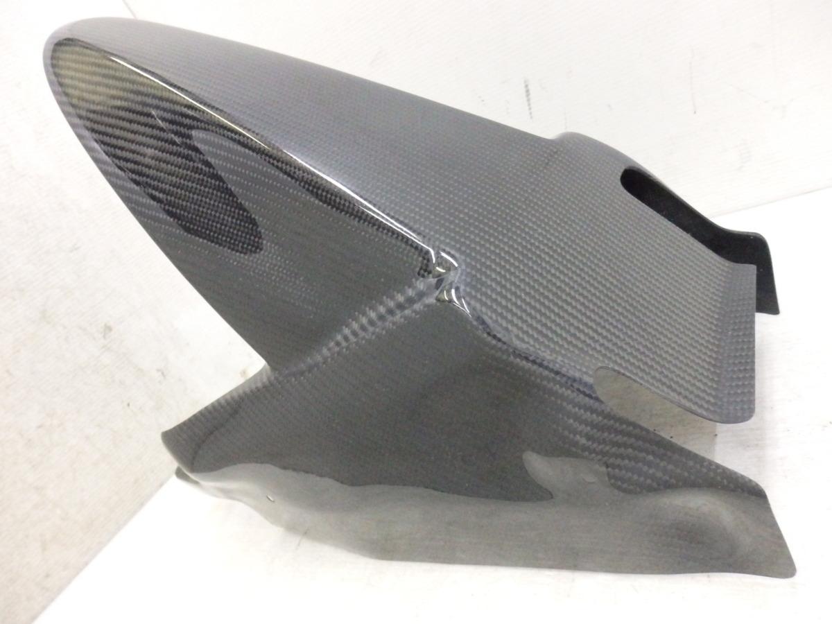 ninja250 EX250P ninja400 EX400G 18-20 A-tech ブラックダイアモンド カーボン リアフェンダー 未使用 即決落札で送料無料T821_画像7