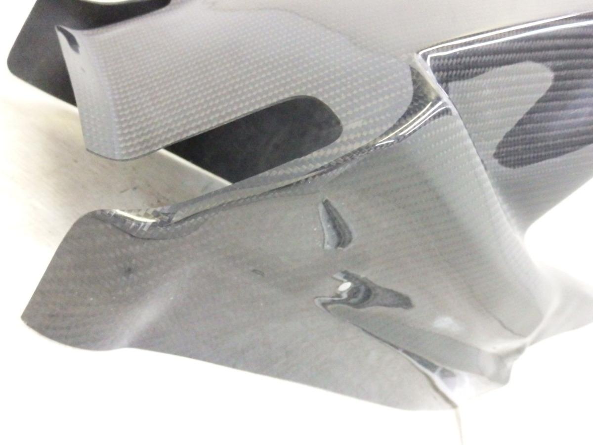 ninja250 EX250P ninja400 EX400G 18-20 A-tech ブラックダイアモンド カーボン リアフェンダー 未使用 即決落札で送料無料T821_画像5