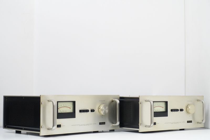 ▲▽Accuphase M-60 モノラルパワーアンプペア アキュフェーズ△▼007958008A-2△▼
