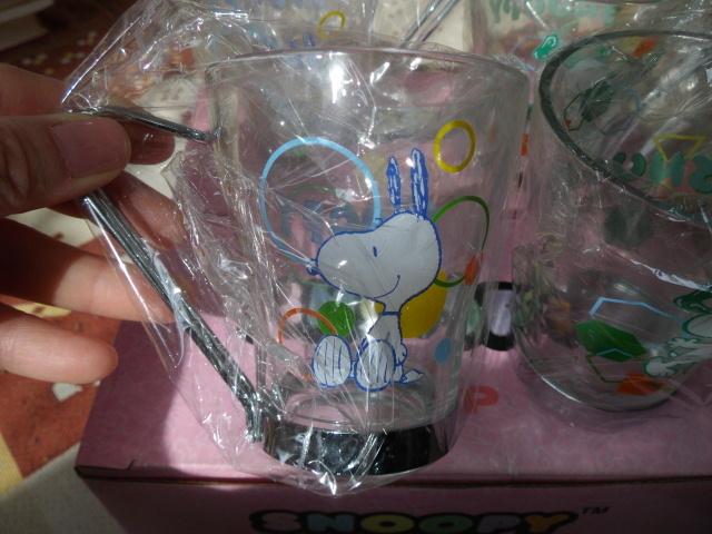 スヌーピーカップ 4個で@新品@_画像2