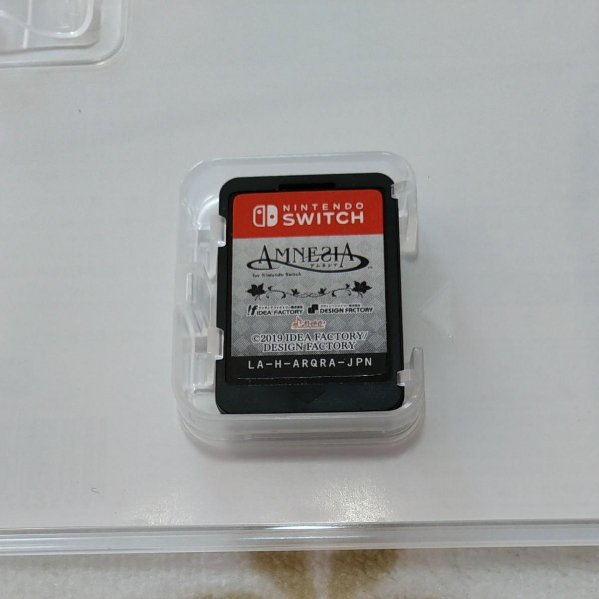 Switchソフト【アムネシア AMNESIA】
