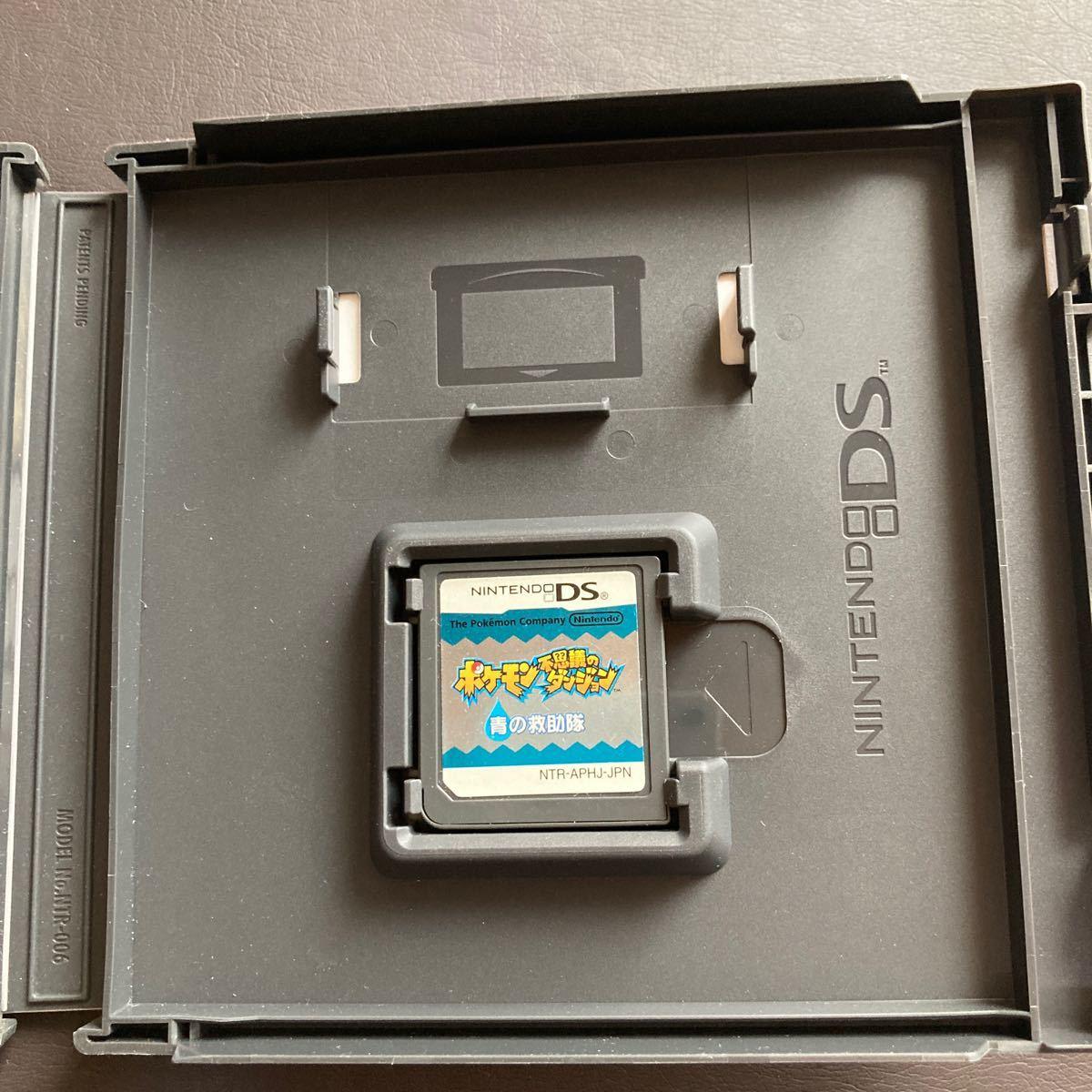 DSソフト ポケモン不思議のダンジョン青の救助隊