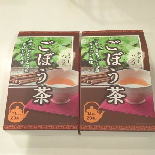 ごぼう茶 2袋、ノンカフェイン、アンチエイジング