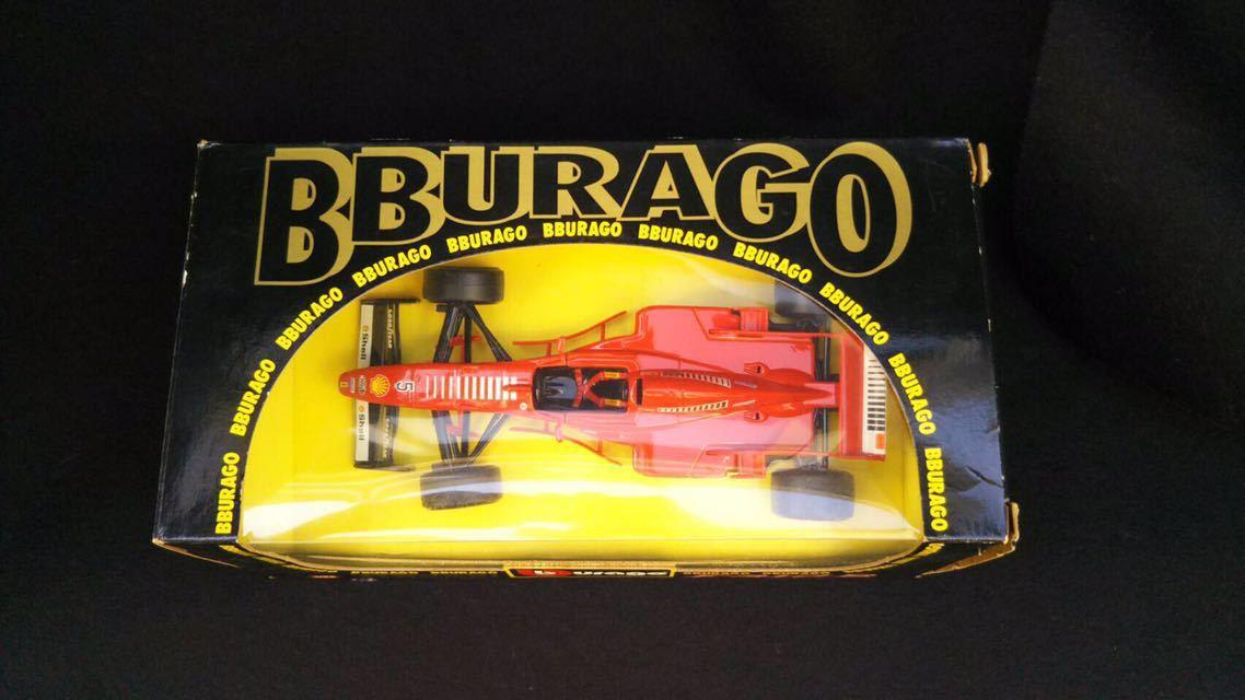 1997 Ferrari フェラーリ F1 F310B 1/24 BBURAGO ブラーゴ イタリア 模型 ミニカー_画像2