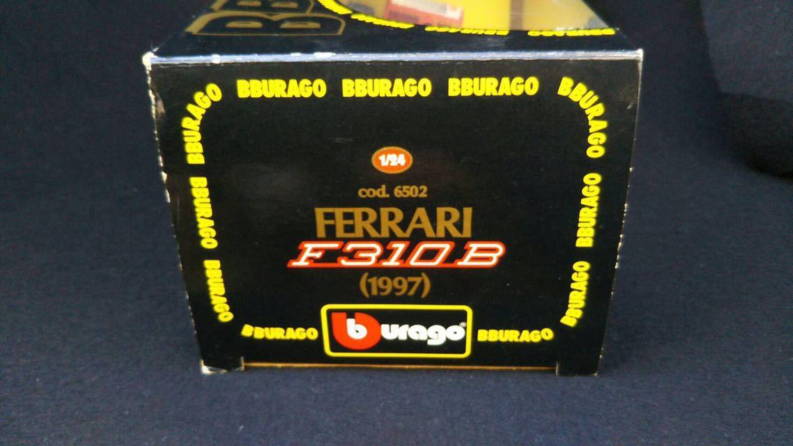 1997 Ferrari フェラーリ F1 F310B 1/24 BBURAGO ブラーゴ イタリア 模型 ミニカー_画像7