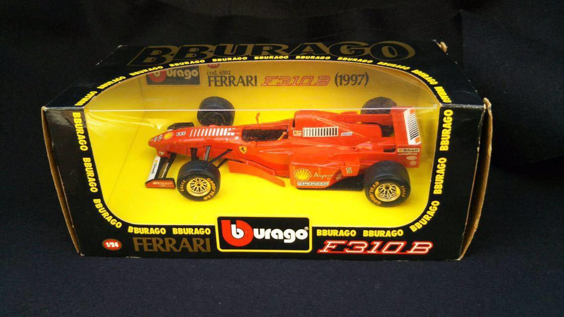 1997 Ferrari フェラーリ F1 F310B 1/24 BBURAGO ブラーゴ イタリア 模型 ミニカー_画像1