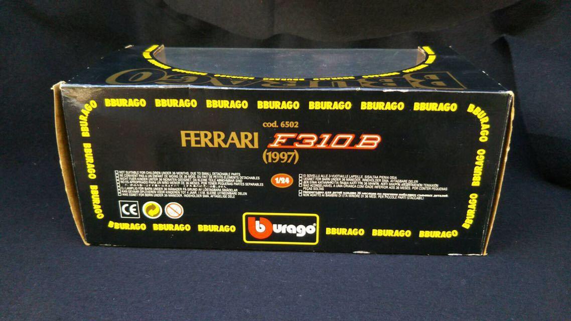 1997 Ferrari フェラーリ F1 F310B 1/24 BBURAGO ブラーゴ イタリア 模型 ミニカー_画像8