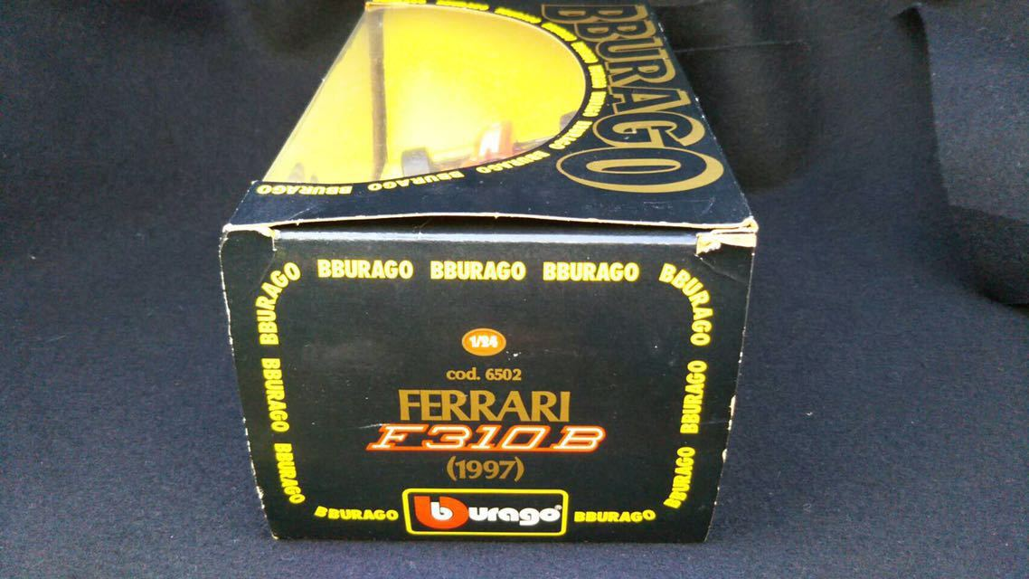 1997 Ferrari フェラーリ F1 F310B 1/24 BBURAGO ブラーゴ イタリア 模型 ミニカー_画像6